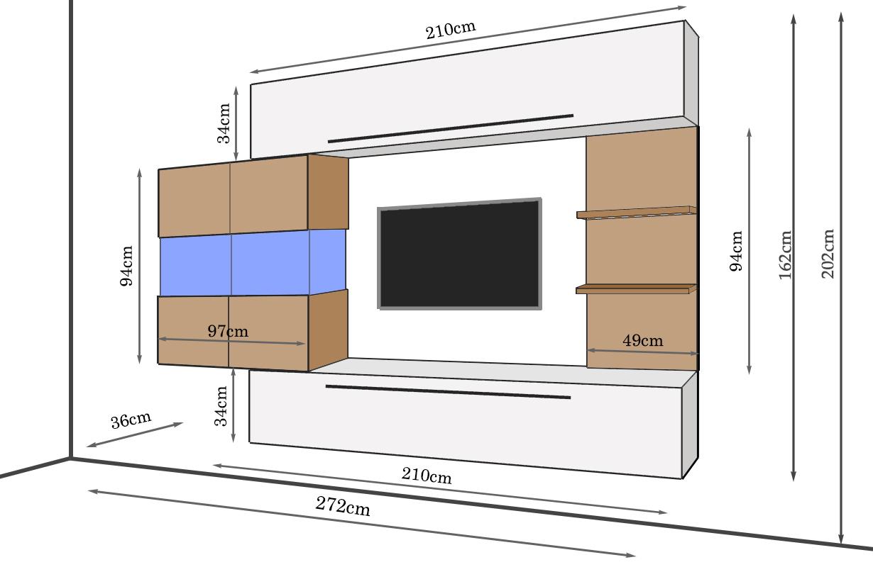designer wohnwand salerna nativo wien moebel. Black Bedroom Furniture Sets. Home Design Ideas