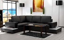 Designer Sofa CANTA mit Regal