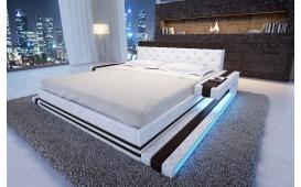 Designer Lederbett IMPERIAL inkl. LED Beleuchtung