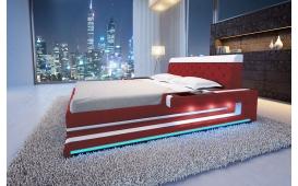 Designer Lederbett IMPERIAL inkl. LED Beleuchtung von NATIVO Moebel Wien