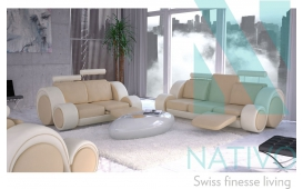 Sofa Garnitur BARACUDA 3+2+1 inkl. Relax-Funktion