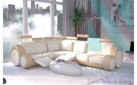 Designer Ecksofa BARACUDA inkl. Relax-Funktion