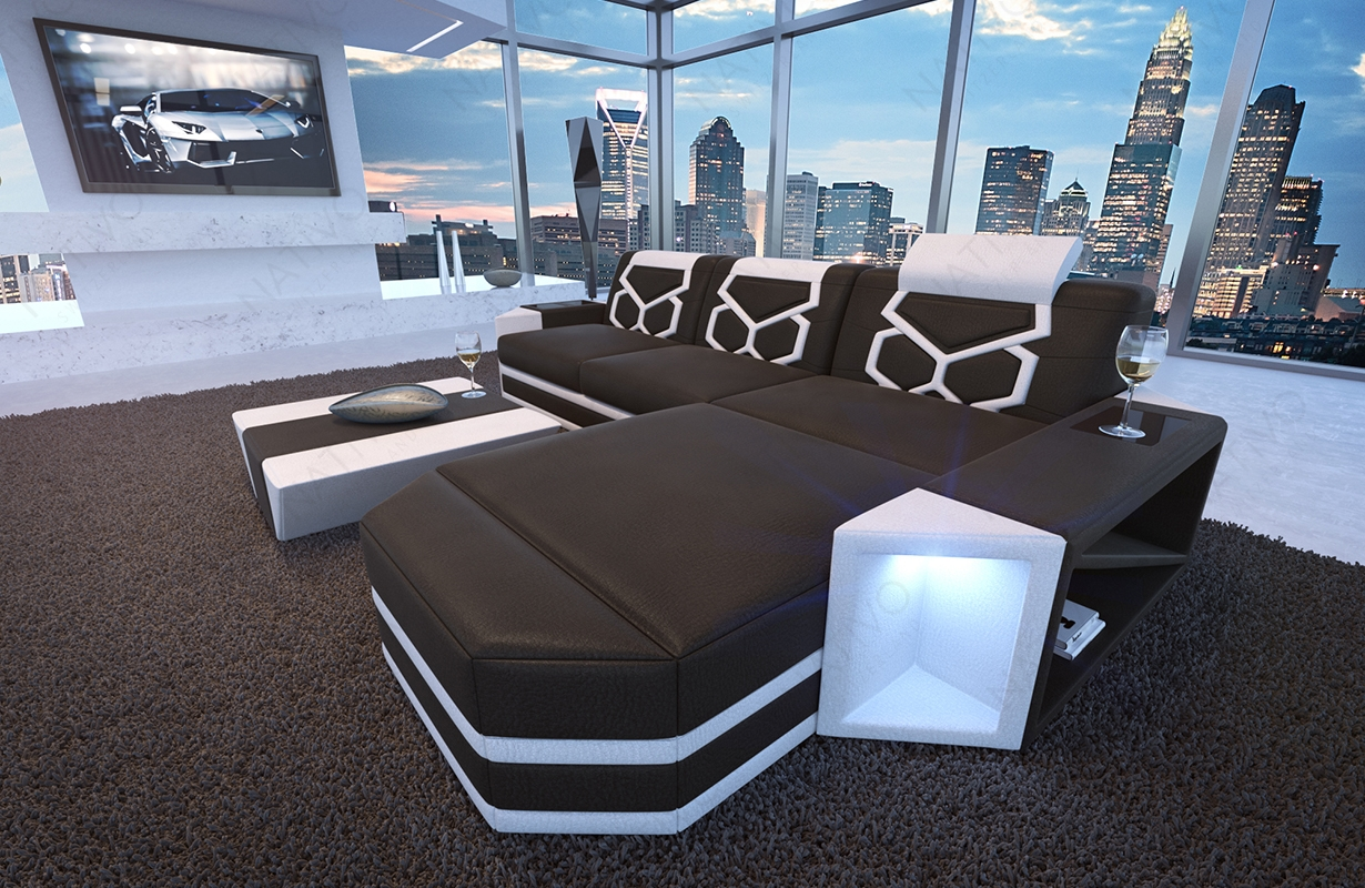 designer sofas designer sofa aventador mini mit led beleuchtung. Black Bedroom Furniture Sets. Home Design Ideas