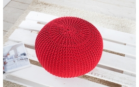 Designer Sitzhocker CUDDLE RED
