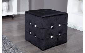 Designer Sitzhocker DIAMONDS BLACK