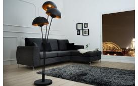 Designer Stehleuchte CHAMP BLACK GOLD