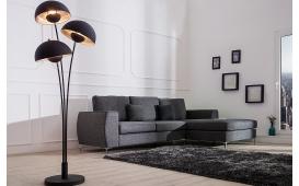 Designer Stehleuchte CHAMP BLACK SILVER