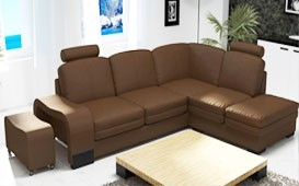 Designer Sofa EDEN MINI inkl. Hocker