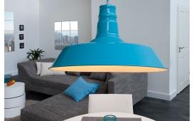 Designer Hängeleuchte LUNA BLUE