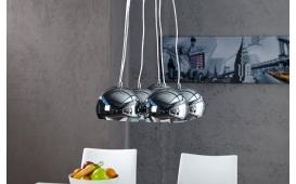 Designer Hängeleuchte PEROTA XL SILVER