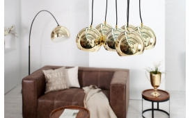 Designer Hängeleuchte PEROTA XL GOLD