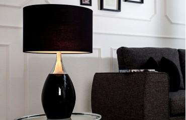 Tischleuchte CARLOS BLACK von NATIVO Designer Möbel Österreich
