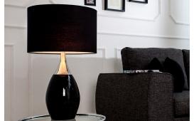 Designer Tischleuchte CARLOS BLACK