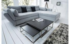 Designer Couchtisch UNITY BLACK Set 2