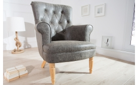 Designer Lounge Sessel GROF GREY