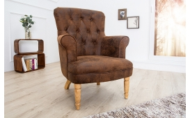 Designer Lounge Sessel GROF BROWN