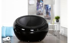 Designer Lounge Sessel LOBBY BLACK