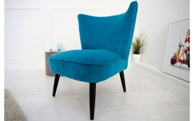 Designer Lounge Sessel RECENT BLUE
