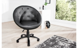 Designer Lounge Sessel STYLE ROLL BLACK