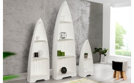 Designer Regal BOAT WHITE 3er SET