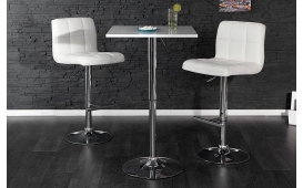 Designer Bartisch ACTION WHITE