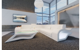 Designer Sofa HERMES CORNER mit LED Beleuchtung