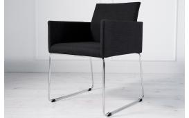 Designer Stuhl PALERMO mit Strukturstoff