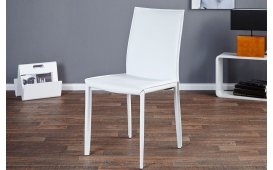 Designer Stuhl TORINO WHITE