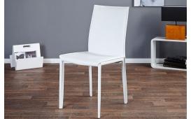 2 x Designer Stuhl TORINO WHITE