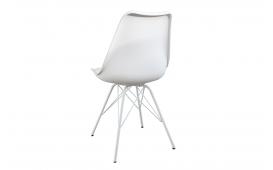 Designer Stuhl SCANIA ALL WHITE