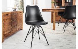 Designer Stuhl SCANIA ALL BLACK