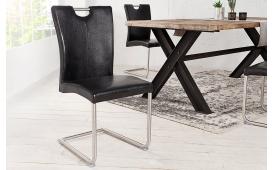 Designer Stuhl WING BLACK