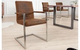 2 x Designer Stuhl BORNEO BROWN