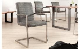 2 x Designer Stuhl BORNEO GREY