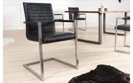 2 x Designer Stuhl BORNEO BLACK