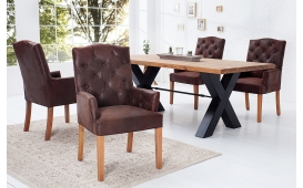 Designer Relaxsessel CHATEAU ANTIK COFFEE