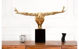 Designer Skulptur ATLETICO GOLD