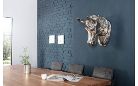 Designer Skulptur HORSEHEAD