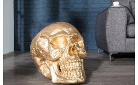 Designer Skulptur CRANEO GOLD