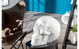 Designer Skulptur CRANEO WHITE