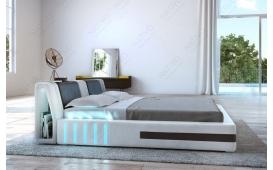 Designer Lederbett VENUM inkl. LED Beleuchtung