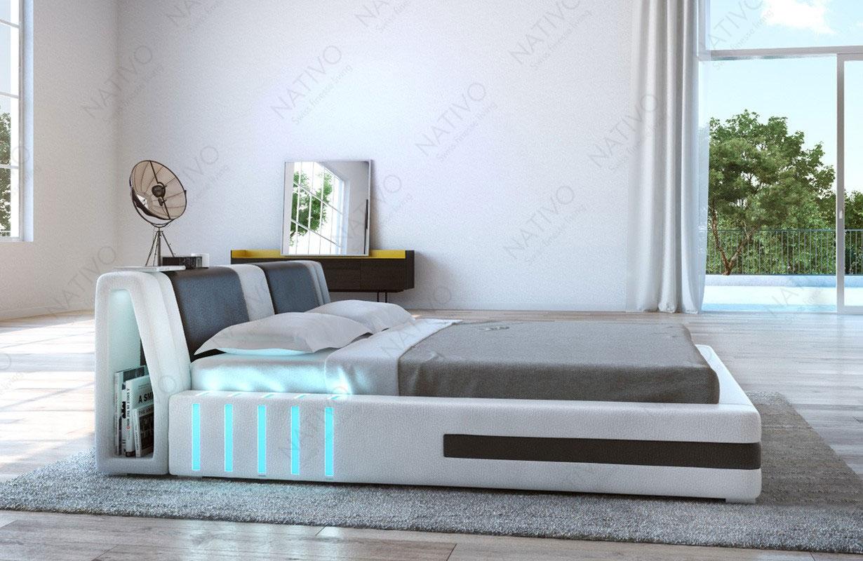 design bett venum mit led beleuchtung von nativo m bel wien. Black Bedroom Furniture Sets. Home Design Ideas