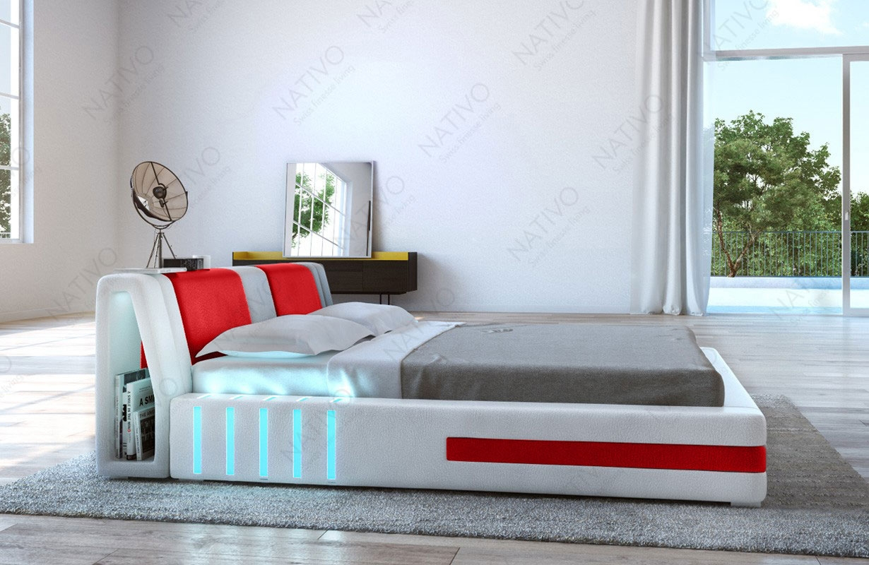 design bett venum mit led beleuchtung von nativo m bel wien. Black Bedroom Furniture Sets. Home Design Ideas