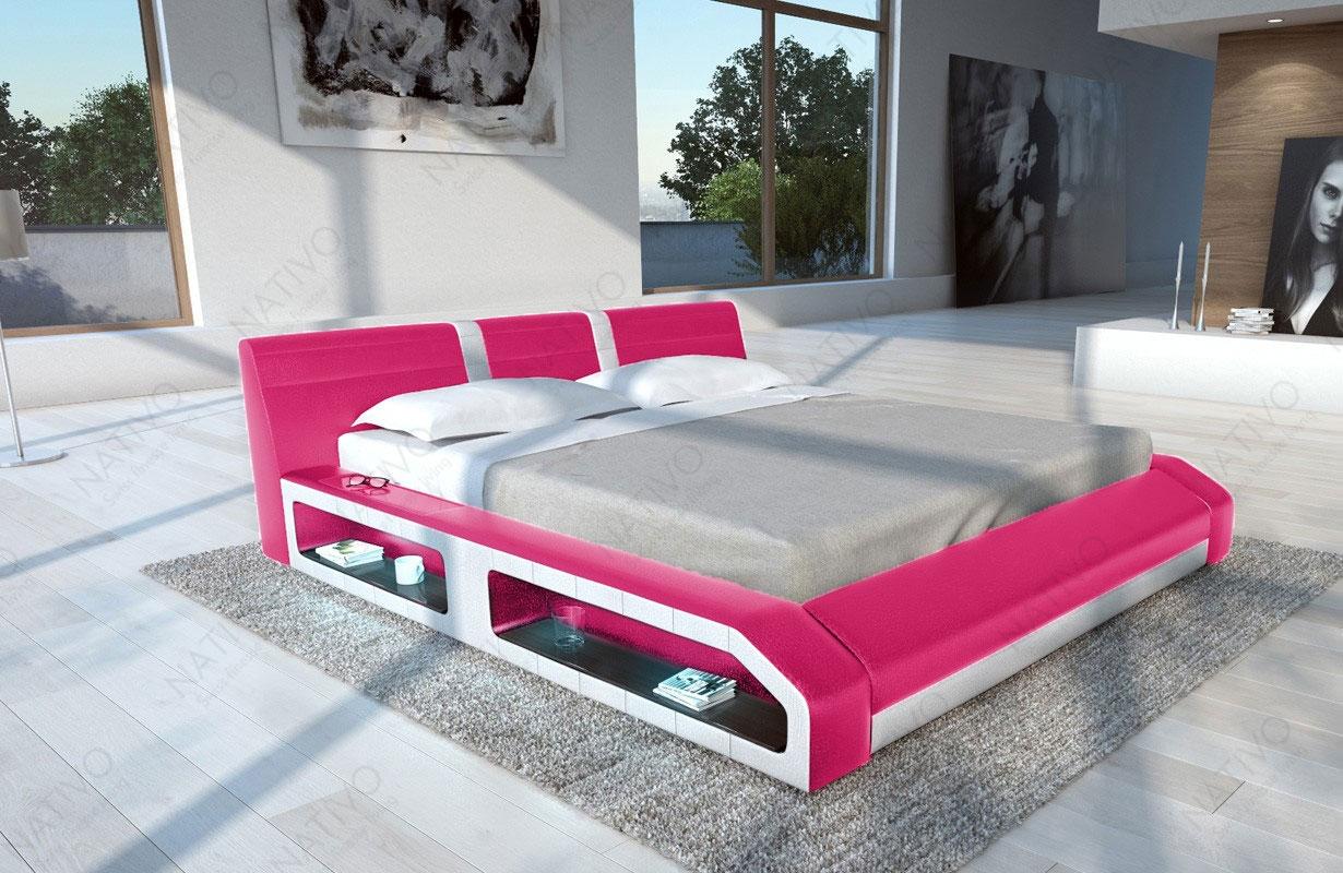 design bett floyd mit led beleuchtung von nativo m bel wien. Black Bedroom Furniture Sets. Home Design Ideas