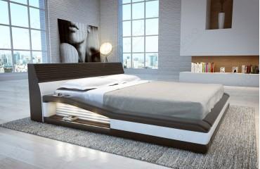 Doppelbett Mit Led ~ Design bett tyson mit led beleuchtung von nativo möbel wien