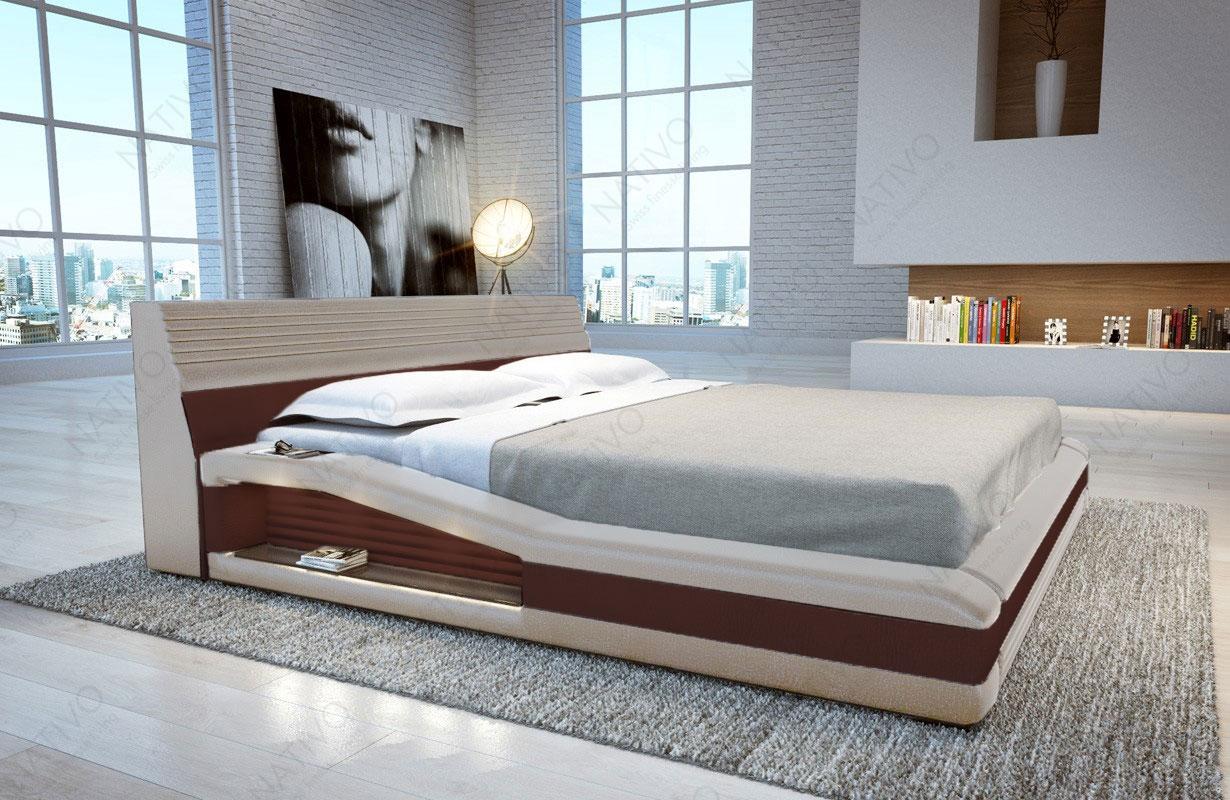Design Bett Tyson Mit Led Beleuchtung Von Nativo Mobel Wien