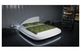 Designer Bett UFO v2.0 mit LED Beleuchtung