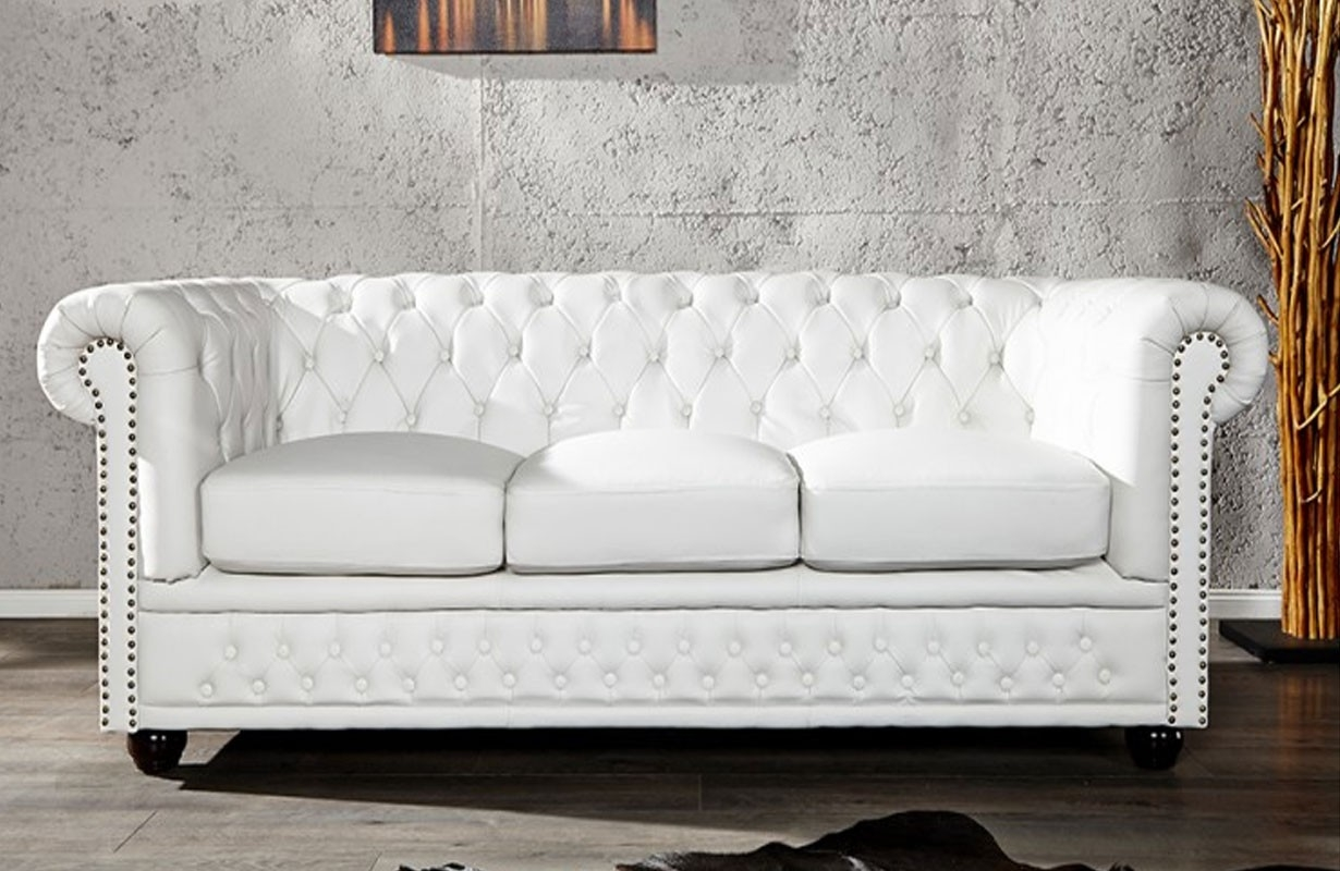 sofa chesterfield 3er white von nativo designer m bel sterreich. Black Bedroom Furniture Sets. Home Design Ideas