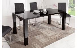 Designer Esstisch SQUARE BLACK 160 cm