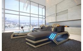 Designer Sofa CLERMONT MINI mit LED Beleuchtung
